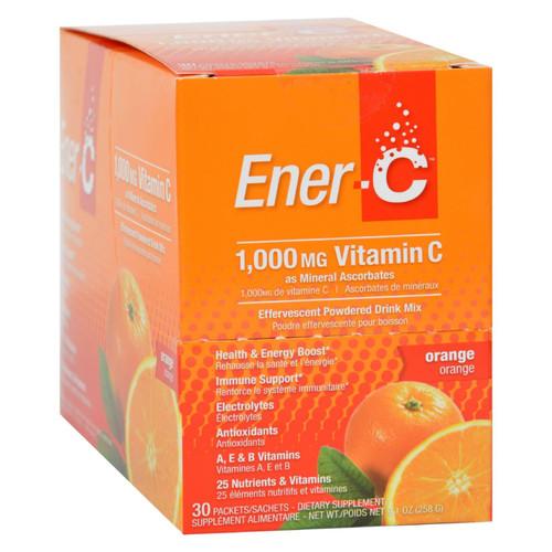 Ener-C Vitamin Drink Mix - Orange - 1000 mg - 30 Packets