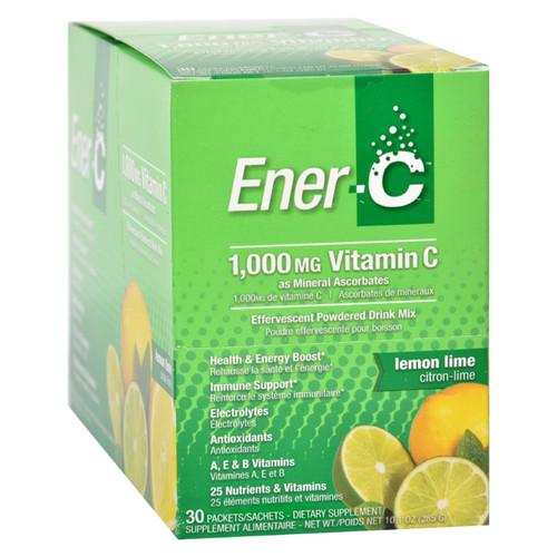 Ener-C Vitamin Drink Mix - Lemon Lime - 1000 mg - 30 Packets