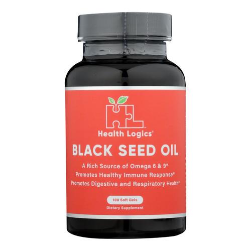 Health Logics Black Cumin Seed Oil - 100 Softgels