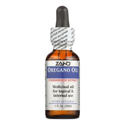 Zand Oregano Oil Standardized Extract - 1 fl oz