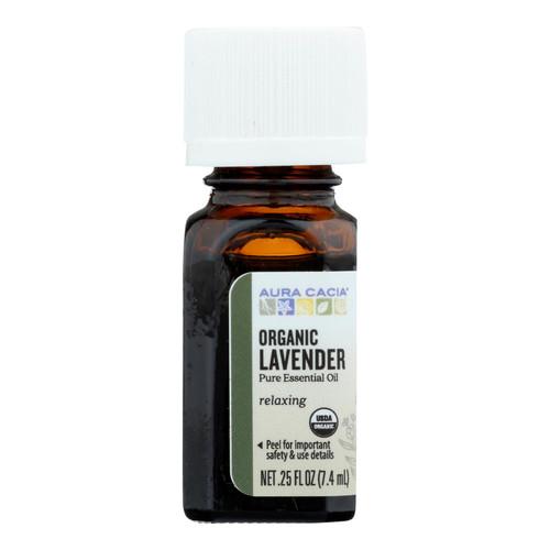Aura Cacia Organic Lavender - .25 oz