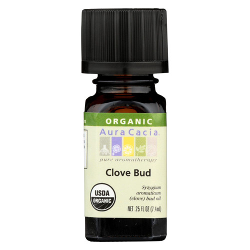 Aura Cacia Organic Essential Oil - Clove Bud - .25 oz