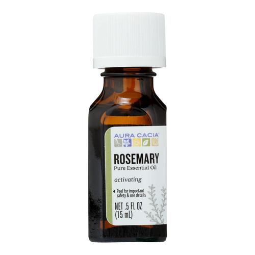 Aura Cacia Pure Essential Oil Rosemary - 0.5 fl oz