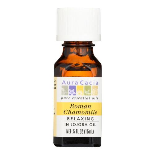 Aura Cacia Roman Chamomile Pure Essential Oil - 0.5 fl oz