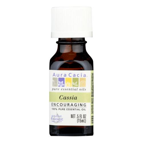 Aura Cacia Pure Essential Oil Cassia Bark - 0.5 fl oz