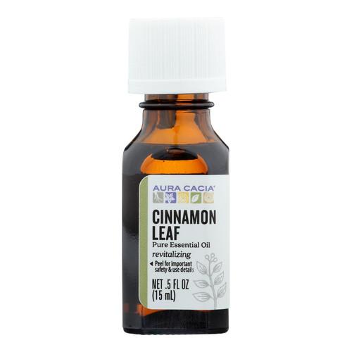 Aura Cacia Pure Essential Oil Cinnamon Leaf - 0.5 fl oz
