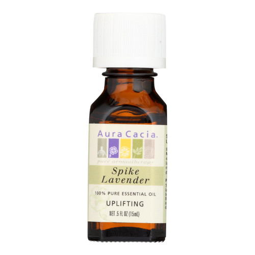 Aura Cacia Pure Essential Oil Spike Lavender - 0.5 fl oz