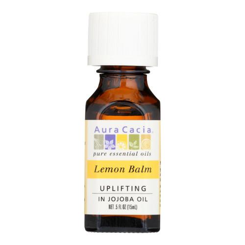 Aura Cacia Precious Essentials - Lemon Balm - .5 oz