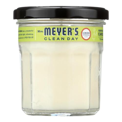 Mrs. Meyer's Soy Candle - Lemon Verbena - Case of 6 - 7.2 oz Candles