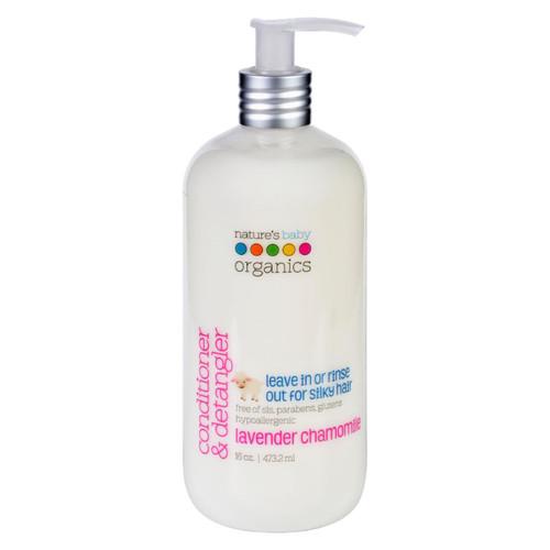 Nature's Baby Organics Conditioner and Detangler Lavender Chamomile - 16 fl oz