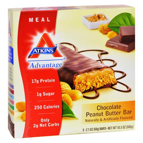 Atkins Advantage Bar Chocolate Peanut Butter - 5 Bars on  Appalachian Organics