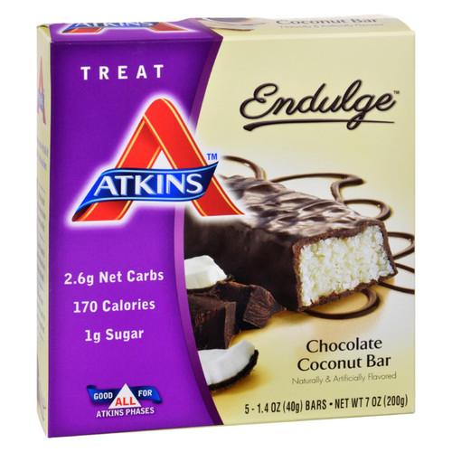 Atkins Endulge Chocolate Coconut Bar - 5/1.4 oz on  Appalachian Organics