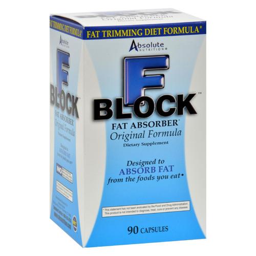 Absolute Nutrition FBlock Fat Absorber - 90 Caps on  Appalachian Organics