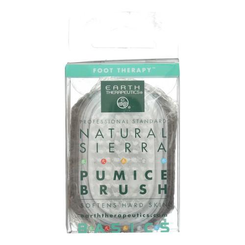 Earth Therapeutics Natural Sierra Pumice Brush - 1 Brush