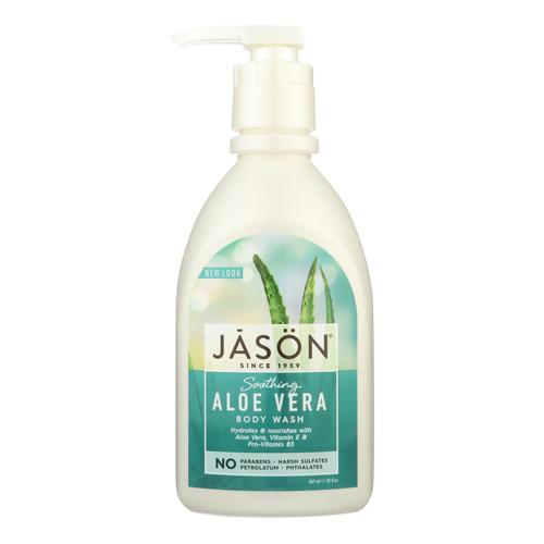 Jason Body Wash Pure Natural Soothing Aloe Vera - 30 fl oz