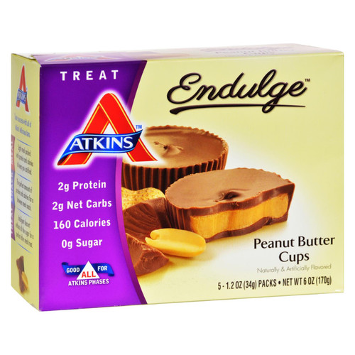 Atkins Endulge Peanut Butter Cups - 5 Packs on  Appalachian Organics