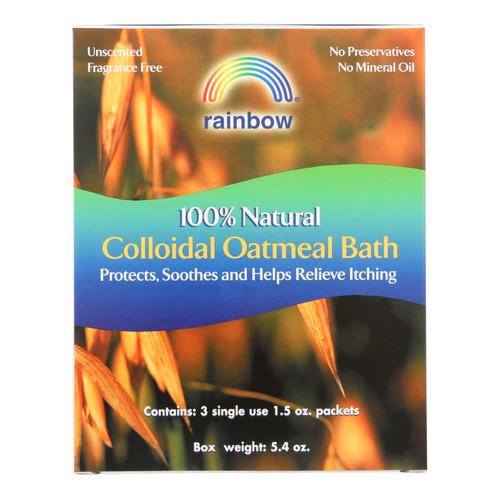 Rainbow Research Colloidal Oatmeal Bath - Pack of 3 - 1.5 oz
