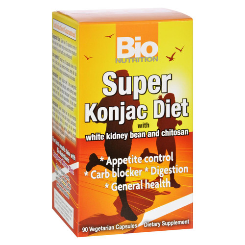 Bio Nutrition Super Konjac Diet - 90 Veggie Capsules on  Appalachian Organics