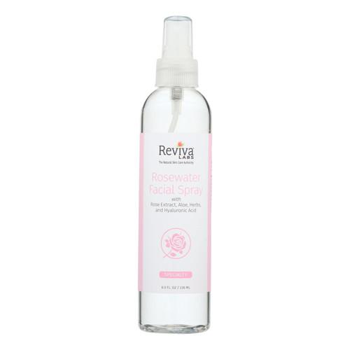 Reviva Labs Facial Spray Rosewater - 8 fl oz