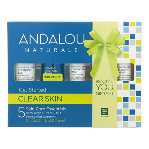 Andalou Naturals Get Started Clarifying 5 Piece Kit - 1 Kit