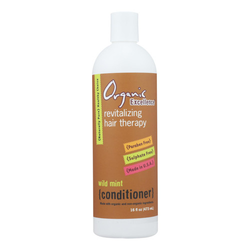 Organic Excellence Wild Mint Conditioner - 16 oz