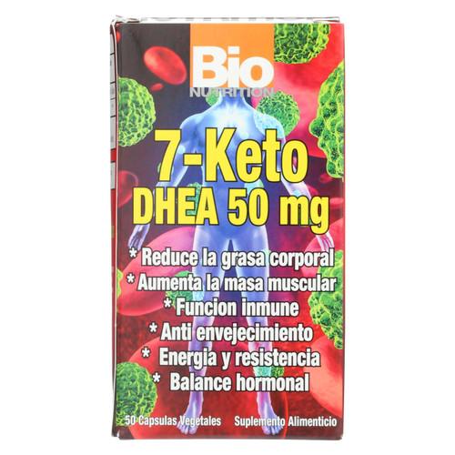 Bio Nutrition 7 Keto DHEA 50 mg - 50 Vegetarian Capsules on  Appalachian Organics