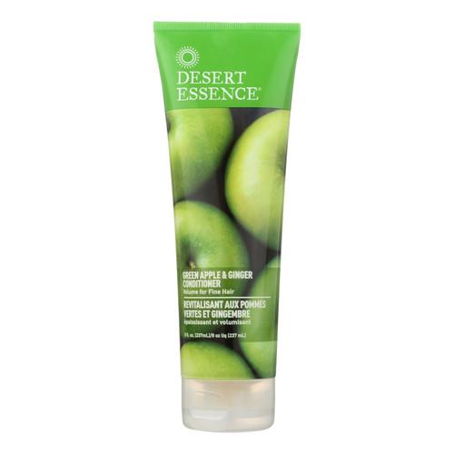 Desert Essence Thickening Conditioner Green Apple and Ginger - 8 fl oz