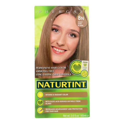Naturtint Hair Color - Permanent - 8N - Wheat Germ Blonde - 5.28 oz