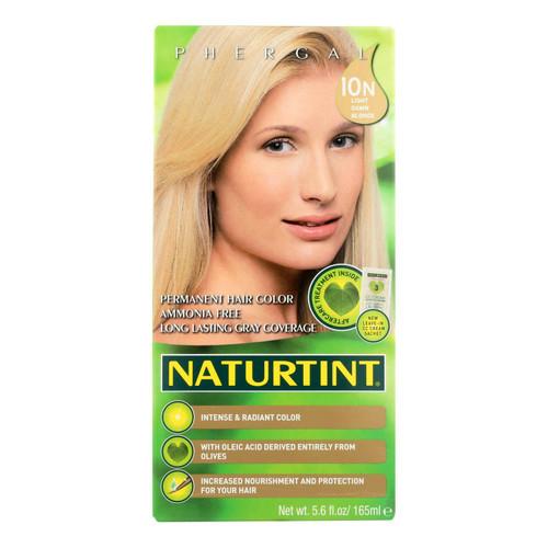 Naturtint Hair Color - Permanent - 10N - Light Dawn Blonde - 5.28 oz