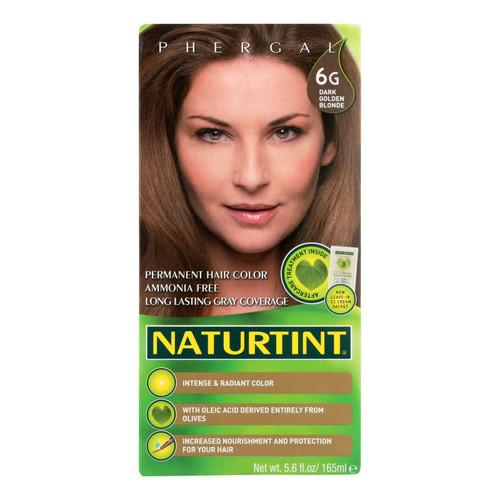 Naturtint Hair Color - Permanent - 6G - Dark Golden Blonde - 5.28 oz