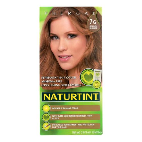 Naturtint Hair Color - Permanent - 7G - Golden Blonde - 5.28 oz