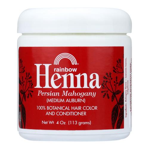 Rainbow Research Henna Hair Color and Conditioner Persian Mahogany Medium Auburn - 4 oz