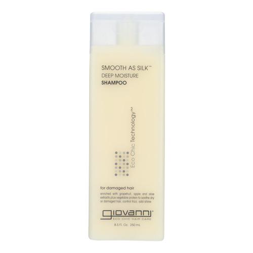 Giovanni Smooth As Silk Deep Moisture Shampoo - 8.5 fl oz