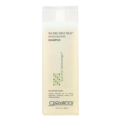 Giovanni Shampoo Tea Tree Triple Treat - 8.5 fl oz