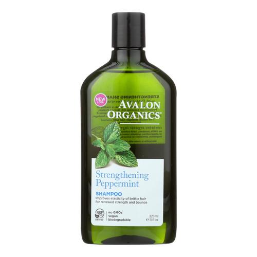 Avalon Organics Revitalizing Shampoo Peppermint Botanicals - 11 fl oz