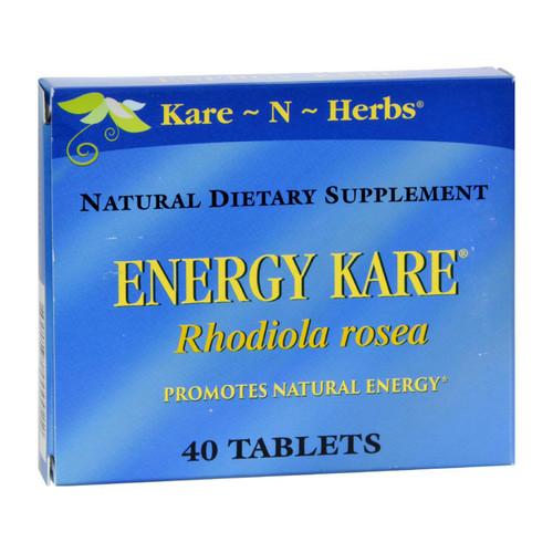 Kare-N-Herbs Energy Kare - 40 Tablets on  Appalachian Organics