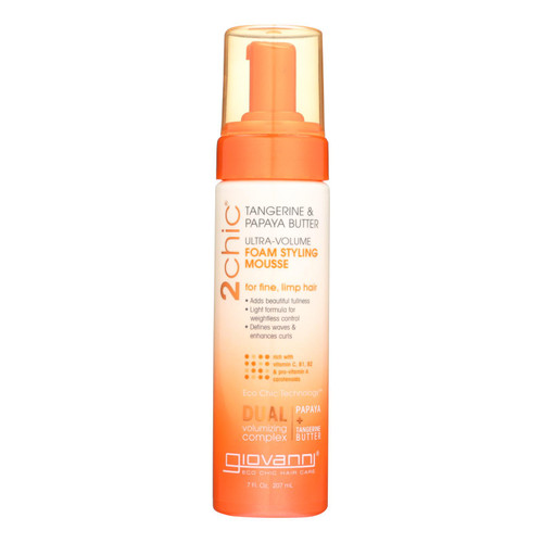 Giovanni Hair Care Products 2chic Style Mousse - Ultra-Volume - 7 fl oz
