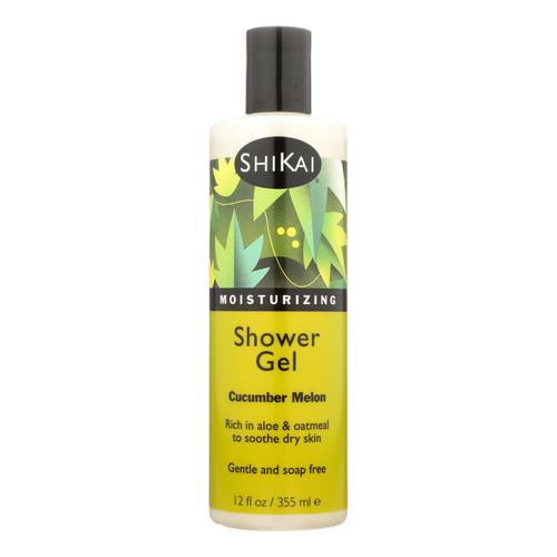 Shikai Products Shower Gel - Cucumber Melon - 12 oz