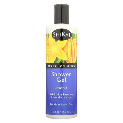 Shikai Products Shower Gel - Starfruit - 12 oz
