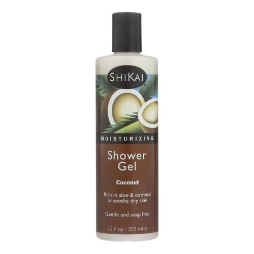 Shikai Products Shower Gel - Coconut - 12 oz