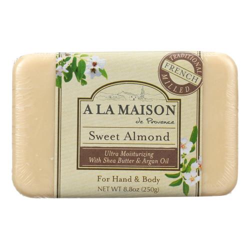A La Maison Bar Soap Sweet Almond - 8.8 oz