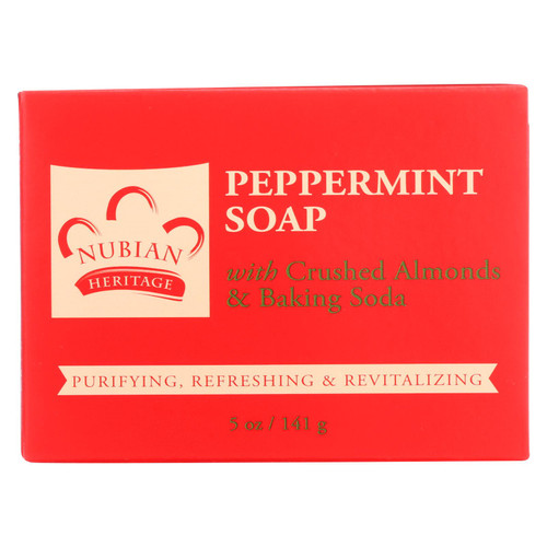 Nubian Heritage Bar Soap Peppermint - 5 oz