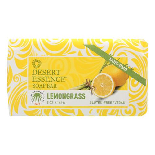 Desert Essence Bar Soap - Lemongrass - 5 oz