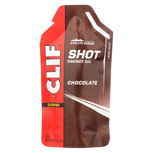 Clif Bar Clif Shot - Chocolate - Case of 24 - 1.2 oz on  Appalachian Organics