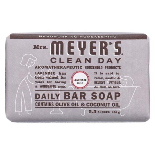 Mrs. Meyer's Bar Soap - Lavender - 5.3 oz