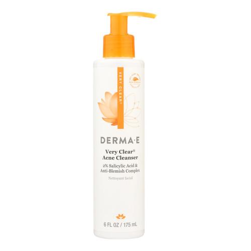 Derma E Very Clear Cleanser - 6 fl oz