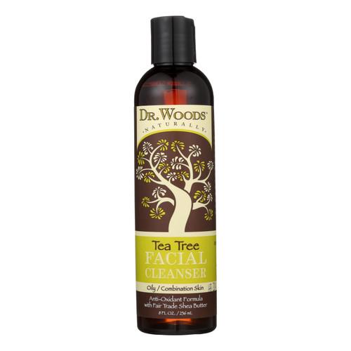 Dr. Woods Facial Cleanser - Tea Tree - 8 oz