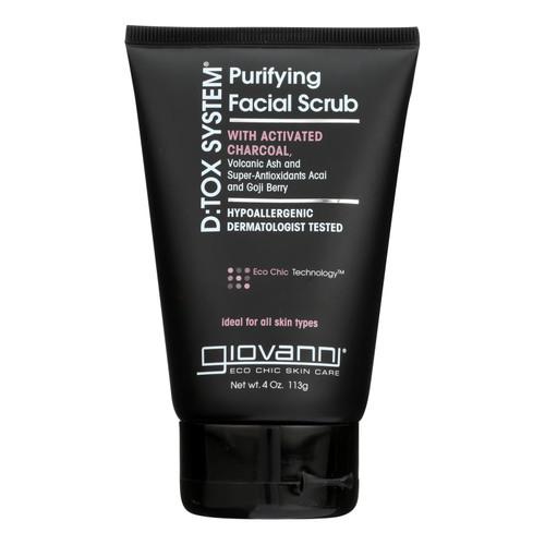 Giovanni D:tox System Purifying Facial Scrub Step 2 - 4 oz