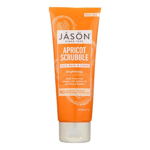 Jason Facial Wash and Scrub Apricot Scrubble - 4 fl oz