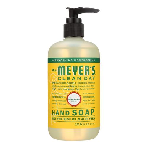 Mrs. Meyer's Liquid Hand Soap - Honeysuckle - Case of 6 - 12.5 oz